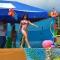 Evento galante se realizó en balneario Dos Bocas, sitio La Cadena. CINTHIA PINDO PINEDA FUE ELECTA REINA DE CARNAVAL 2017 DE PARROQUIA PROGRESO.